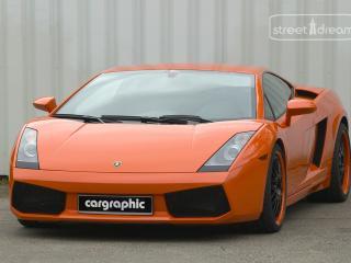 обои Cargraphic Lamborghini Gallardo перед фото