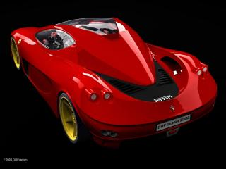 обои DGF Design Ferrari Aurea Berlinetta темнота фото