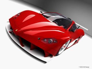 обои DGF Design Ferrari Aurea GT спереди фото