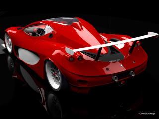 обои DGF Design Ferrari Aurea GT темнота фото