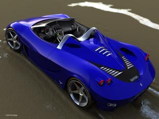 обои DGF Design Ferrari Aurea Spyder без крыши фото