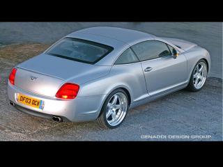 обои Genaddi Design Bentley Continental GT-R зад фото