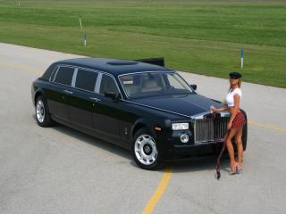 обои Genaddi Design Rolls Royce Phantom в юбке фото