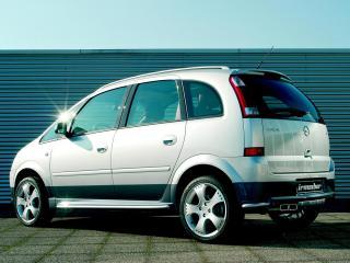обои Irmscher Opel Meriva (A) бок фото