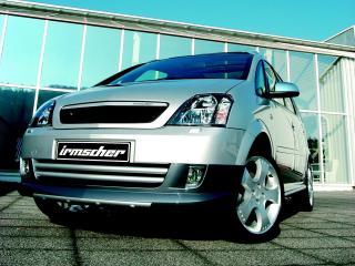 обои Irmscher Opel Meriva (A) перед фото