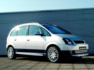 обои Irmscher Opel Meriva (A) сбоку фото