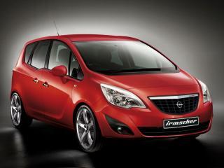 обои Irmscher Opel Meriva (B) передок фото