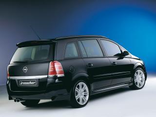обои Irmscher Opel Zafira (B) бок фото