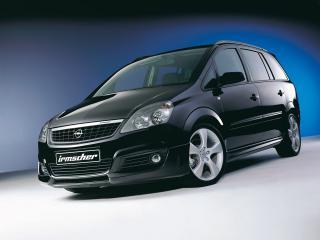 обои Irmscher Opel Zafira (B) перед фото