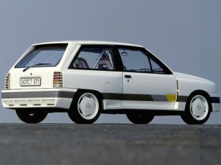 обои Opel Corsa Sprint Gr.B Prototype (A) бок фото