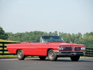 обои Pontiac Catalina Convertible 1962 без крыши фото