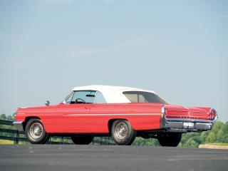 обои Pontiac Catalina Convertible 1962 бок фото