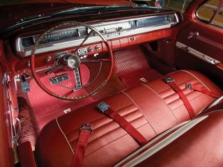 обои Pontiac Catalina Convertible 1962 руль фото