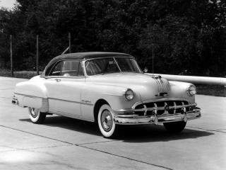 обои Pontiac Chieftain Convertible 1950 перед фото