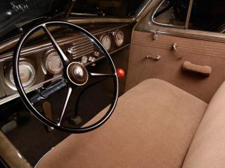 обои Oldsmobile Six Touring Sedan (F37) руль фото