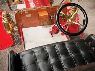 обои Maxwell Model L Runabout руль фото