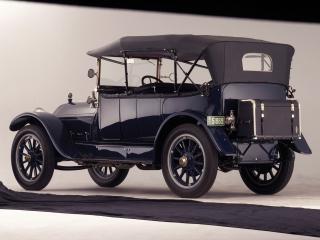 обои Stevens-Duryea Model C 5-passenger Touring задок фото