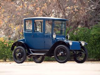 обои Detroit Electric Brougham 1915 бок фото