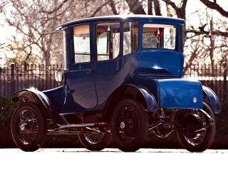 обои Detroit Electric Brougham 1915 зад фото