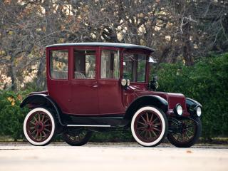 обои Detroit Electric Brougham 1918 бок фото