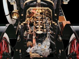 обои De Dion-Bouton Model AD моторчик фото