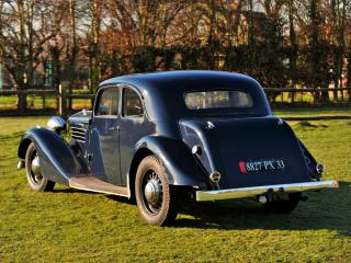 обои Delage D6-60 Sports Saloon by Letourneur & Marchand зад фото
