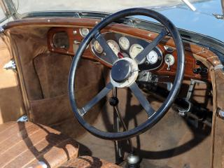обои Delage D8 4-seater Sports Tourer by Chapron руль фото