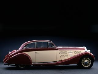 обои Delage D8 105 Sport Aerodynamic Coupe by Letourneur & Marchand бок фото