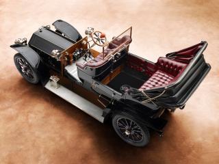 обои Panhard & Levassor Type Q сверху фото