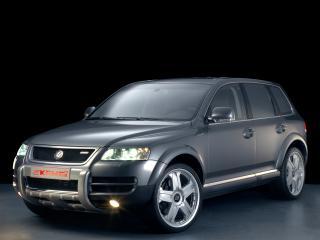 обои Kamei Volkswagen Touareg бок фото