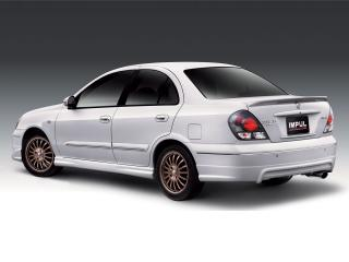 обои Impul Nissan Sentra PH-spec (N16) зад фото