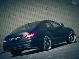 обои Kicherer Mercedes-Benz CLS Edition Black (C218) зад фото