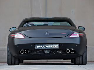 обои Kicherer SLS63 Supersport Black Edition (C197) сзади фото