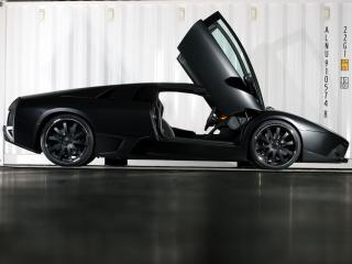 обои Unicate Lamborghini Murcielago LP 640 Yeniceri Edition черная фото