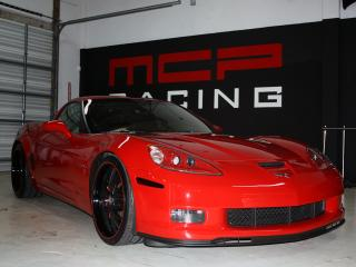 обои MCP Racing Corvette Z06 (C6) перед фото
