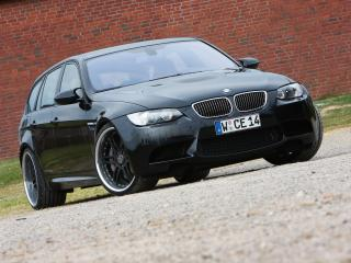 обои Manhart Racing BMW M3 Touring (E91) перед фото