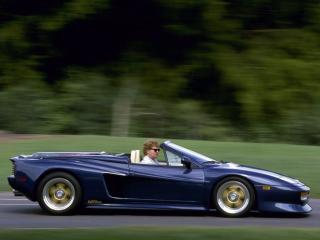 обои Koenig Ferrari 512 Testarossa Spider бок фото