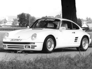 обои Koenig Porsche 911 (930) перед фото