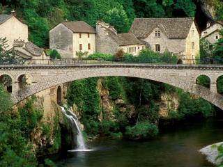 обои Старинный мост в европе фото
