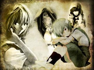обои Evangelion фото