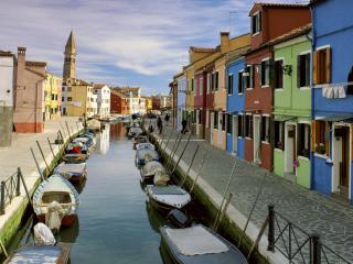 обои Лето - венецианская улица фото