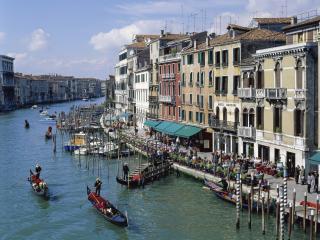обои Венецианский канал сегодня фото
