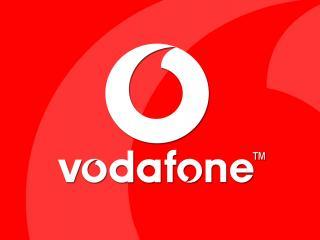 обои для рабочего стола: Vodafone лого
