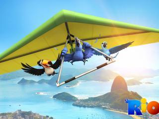 обои Rio Movie полет фото
