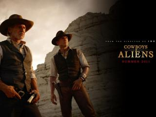 обои Cowboys & Aliens красавцы фото