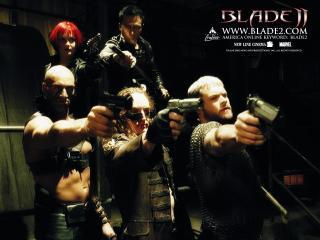 обои Blade II толпа фото
