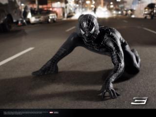 обои Spider-Man 3 черный фото