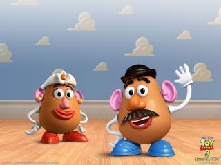 обои Toy Story 3 картошка фото