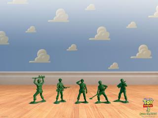 обои Toy Story 3 солдаты фото