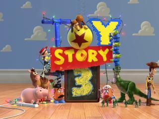 обои Toy Story3 все собрались фото